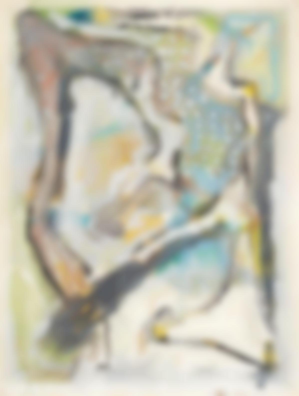 Jean-Pierre Pincemin-Untitled-1985