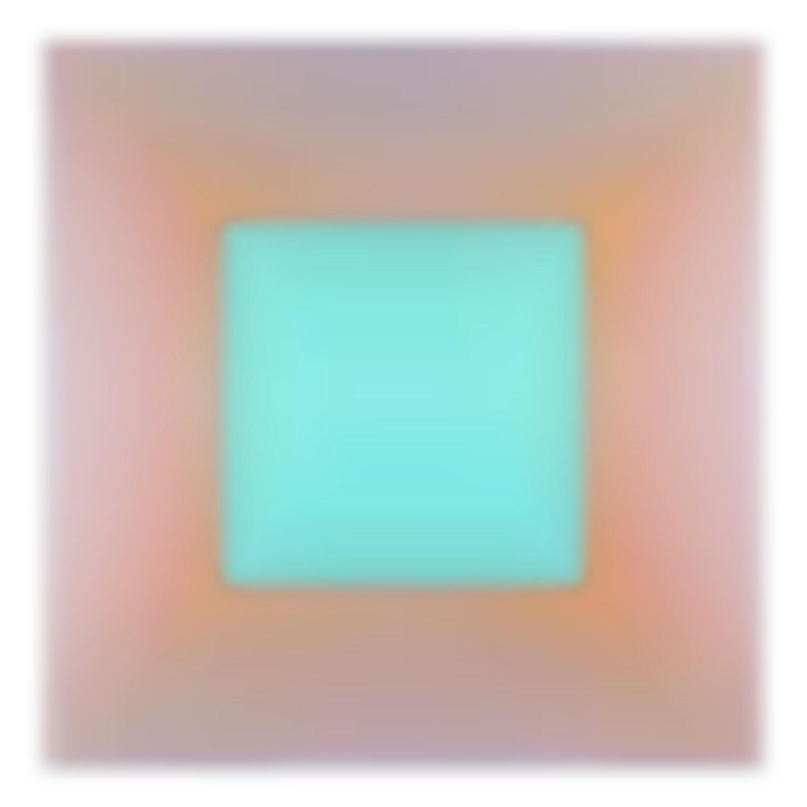 Richard Anuszkiewicz-Aqua Square-2016