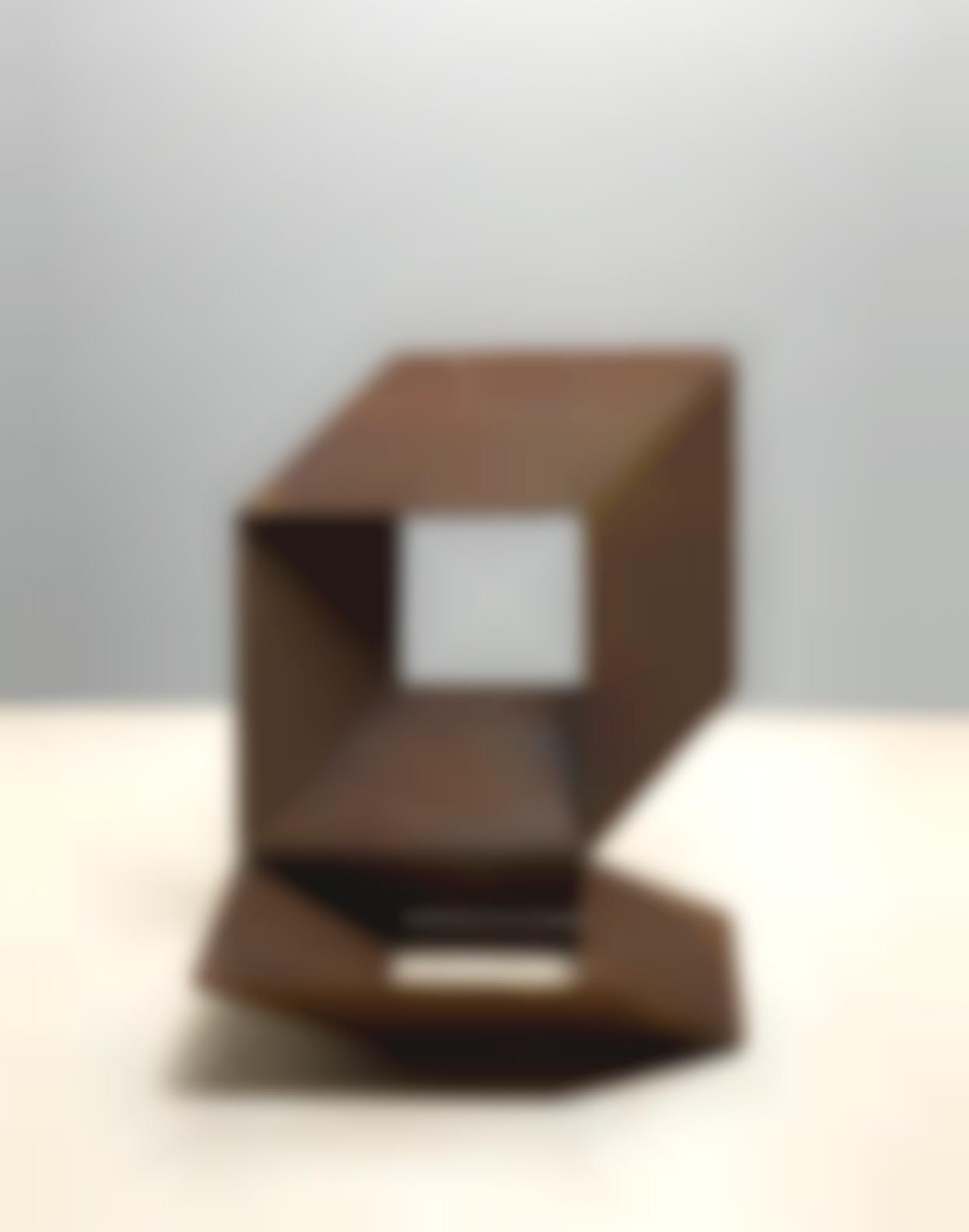 Charles Ginnever-Untitled (Two Cubes)-
