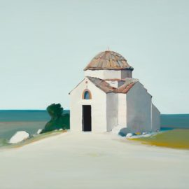 Gregory Kondos-Byzantine Church-1974