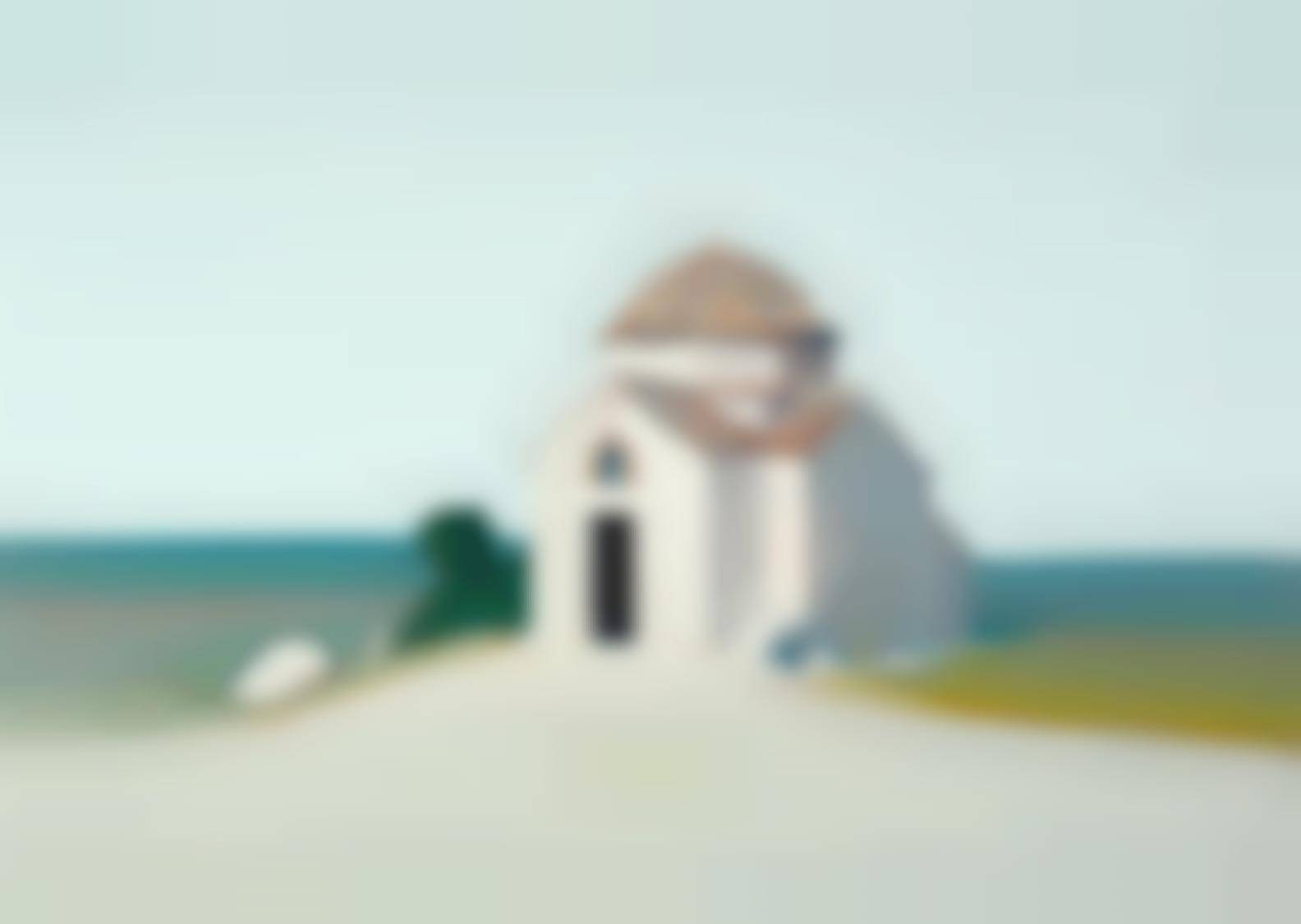 Gregory Kondos-Byzantine Church-1974