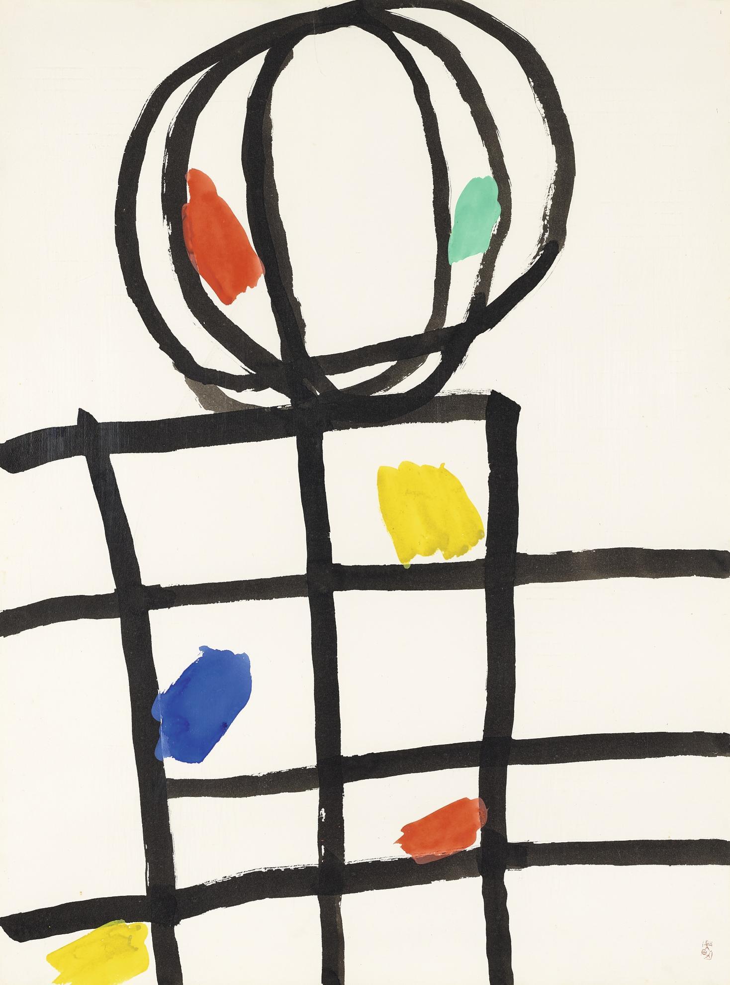 Takeo Yamaguchi-Untitled-1970