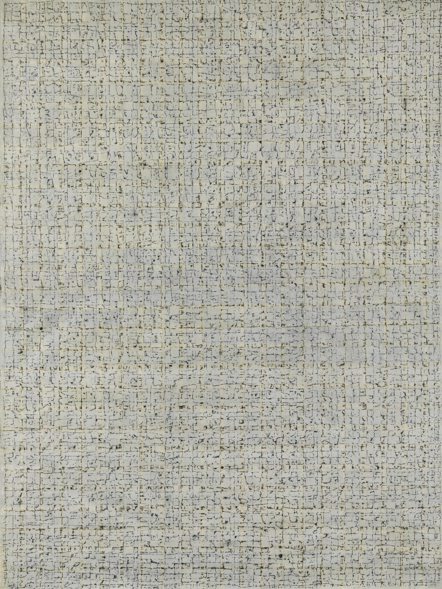 Chung Sang-Hwa-Frottage P.6-1978