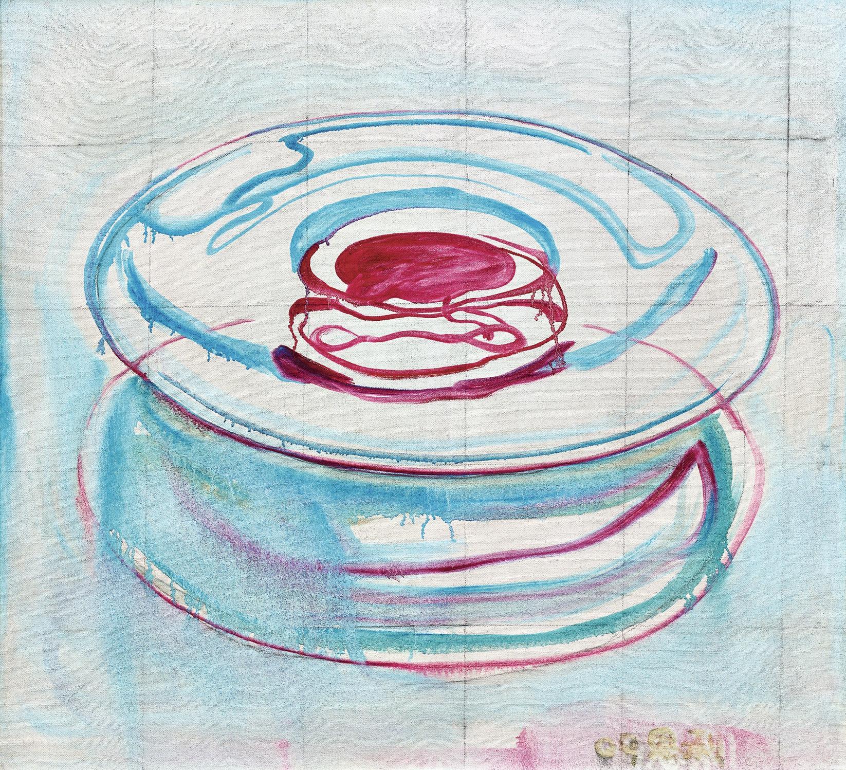 Zhang Enli-Fruit Dish-2009