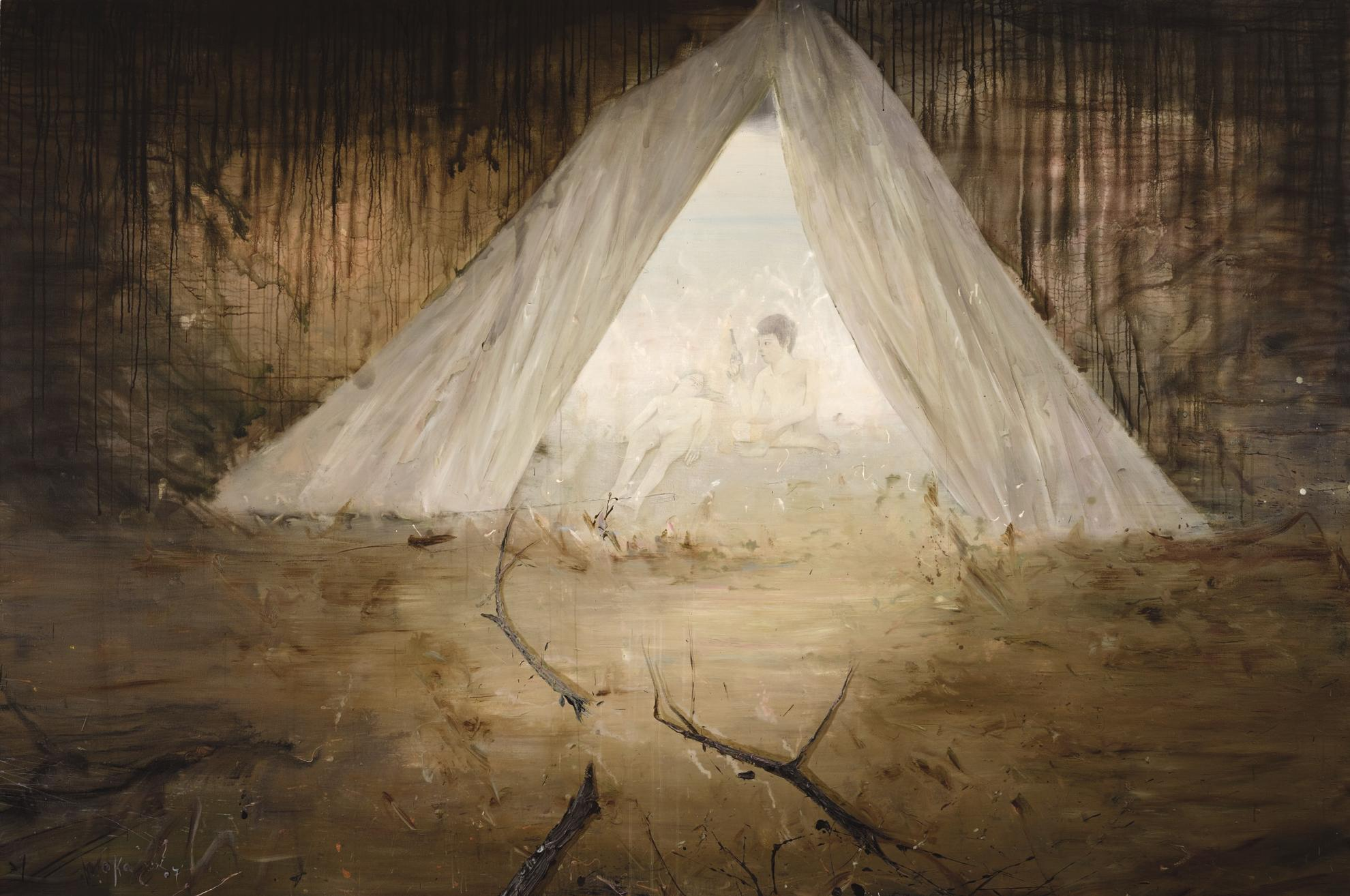Wei Jia-Illuminate The Dark Night No. 4-2007