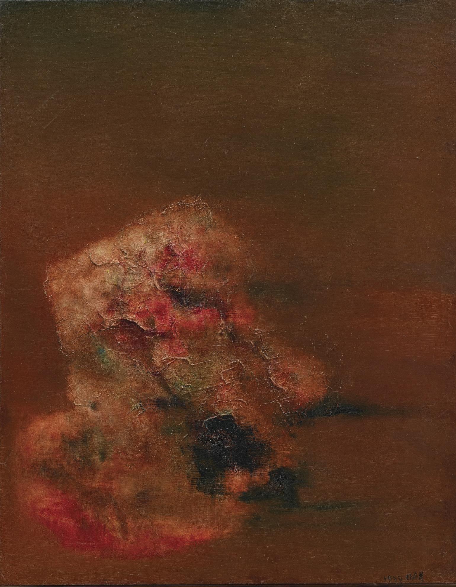 Zhou Chunya-Red Rock-1999