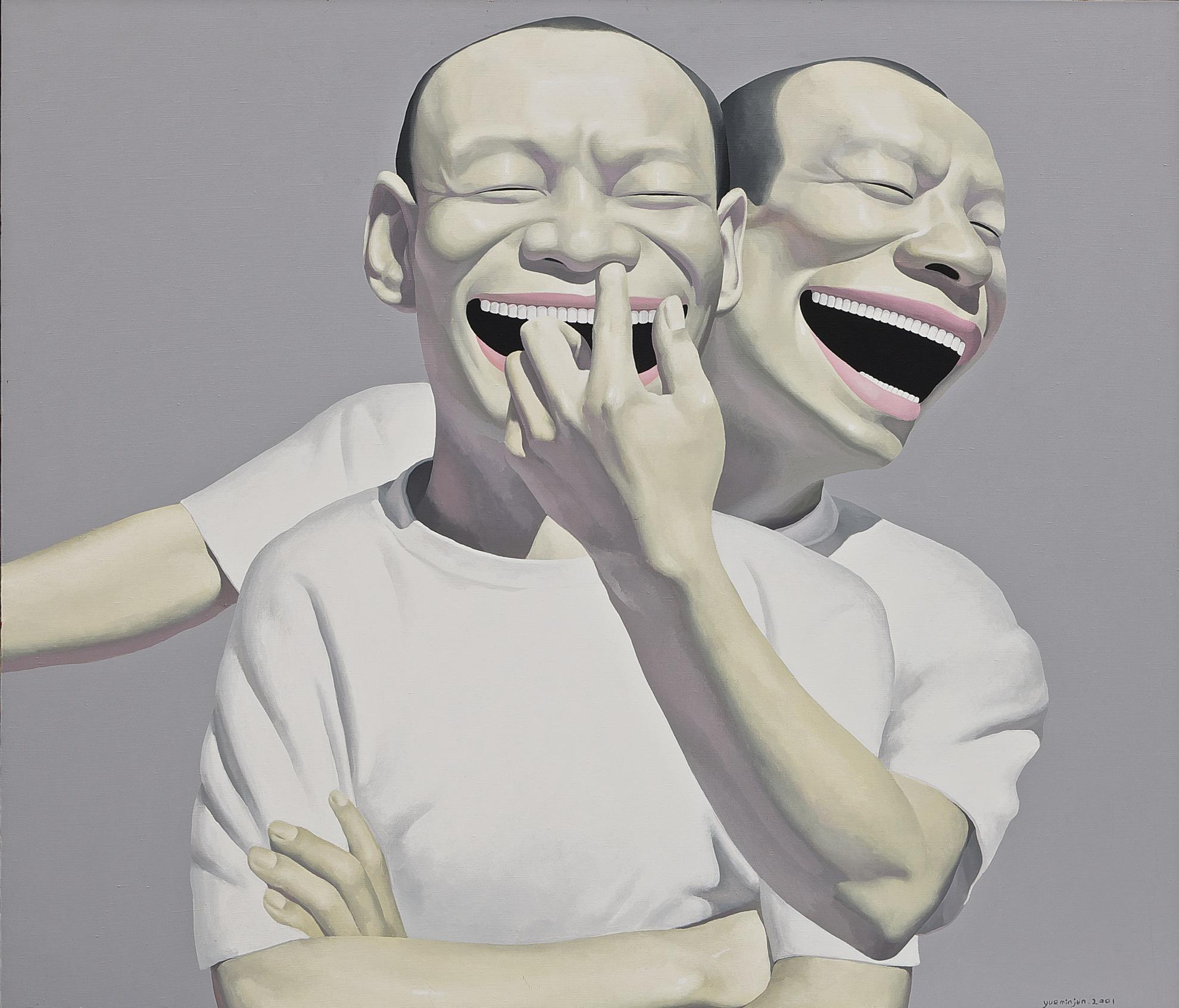 Yue Minjun-Untitled-2001