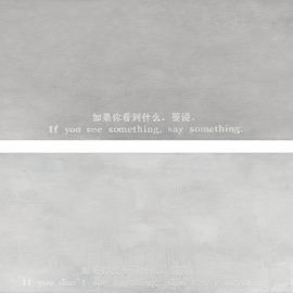 Yin Xiuzhen-Song Dong-(i) If You See Something, Say Something (ii) If You Dont See Anything, Dont Say Anything-2006
