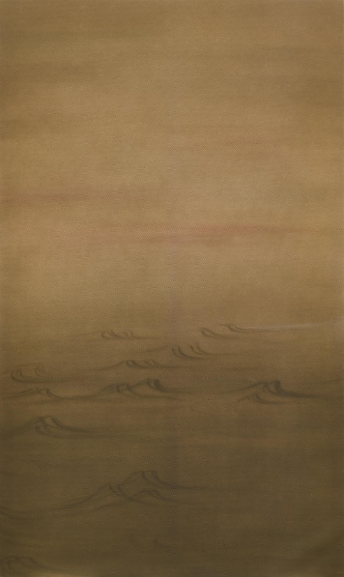 Zhou Tiehai-Autumn Waters Rippling-2000