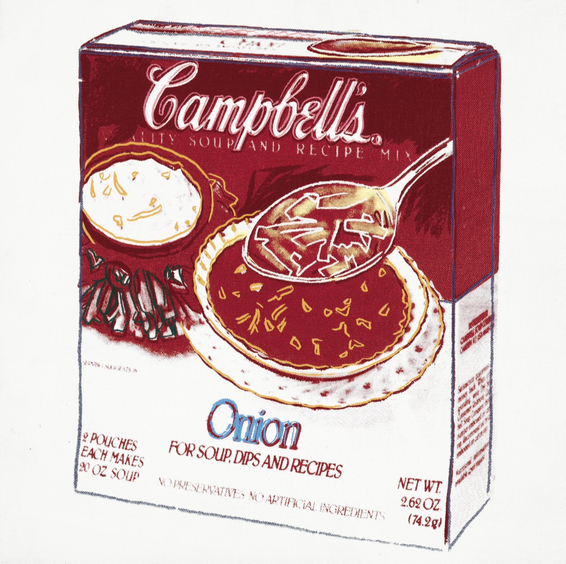 Andy Warhol-Campbells Onion Soup Box-1986