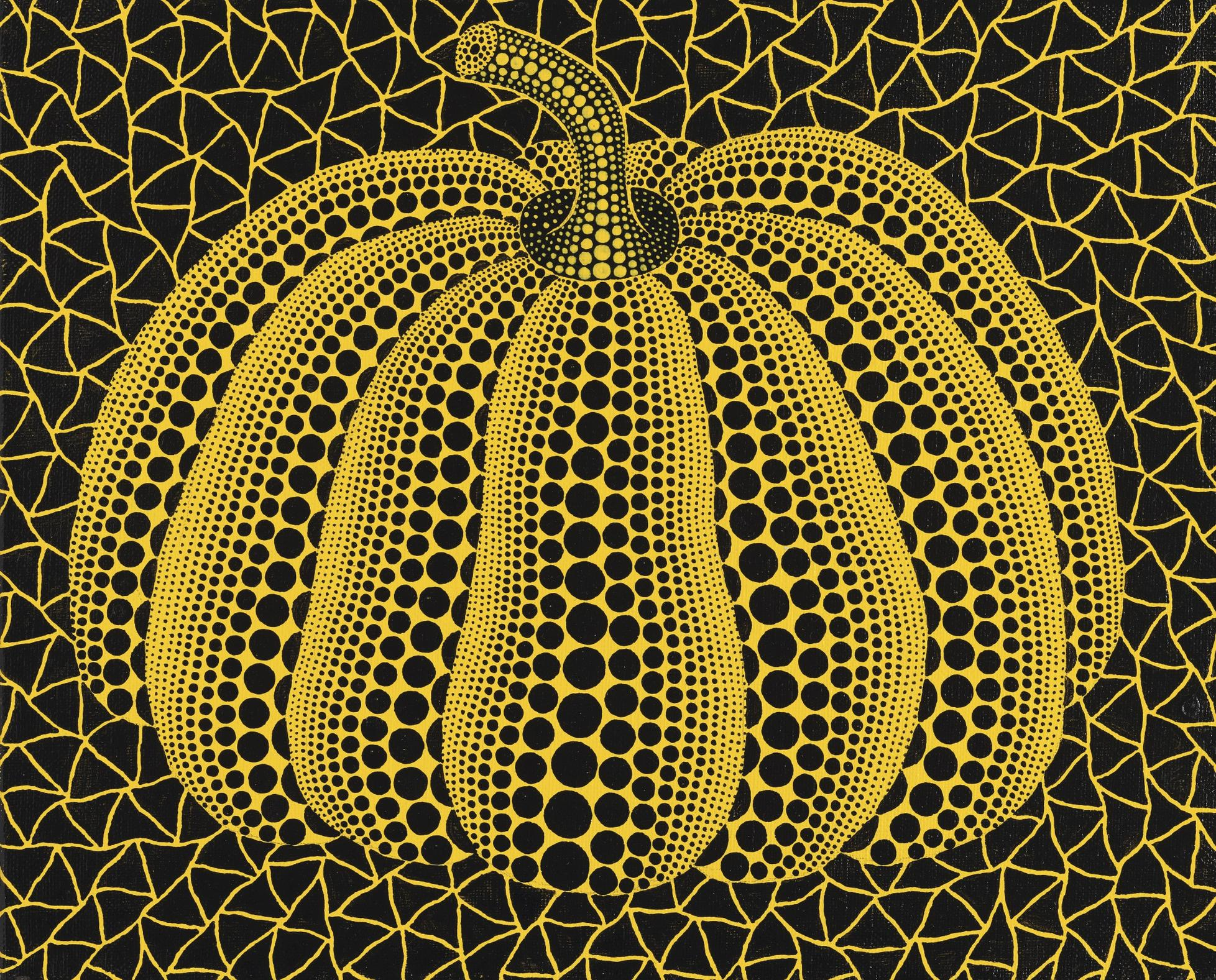 Yayoi Kusama-Pumpkin-2001