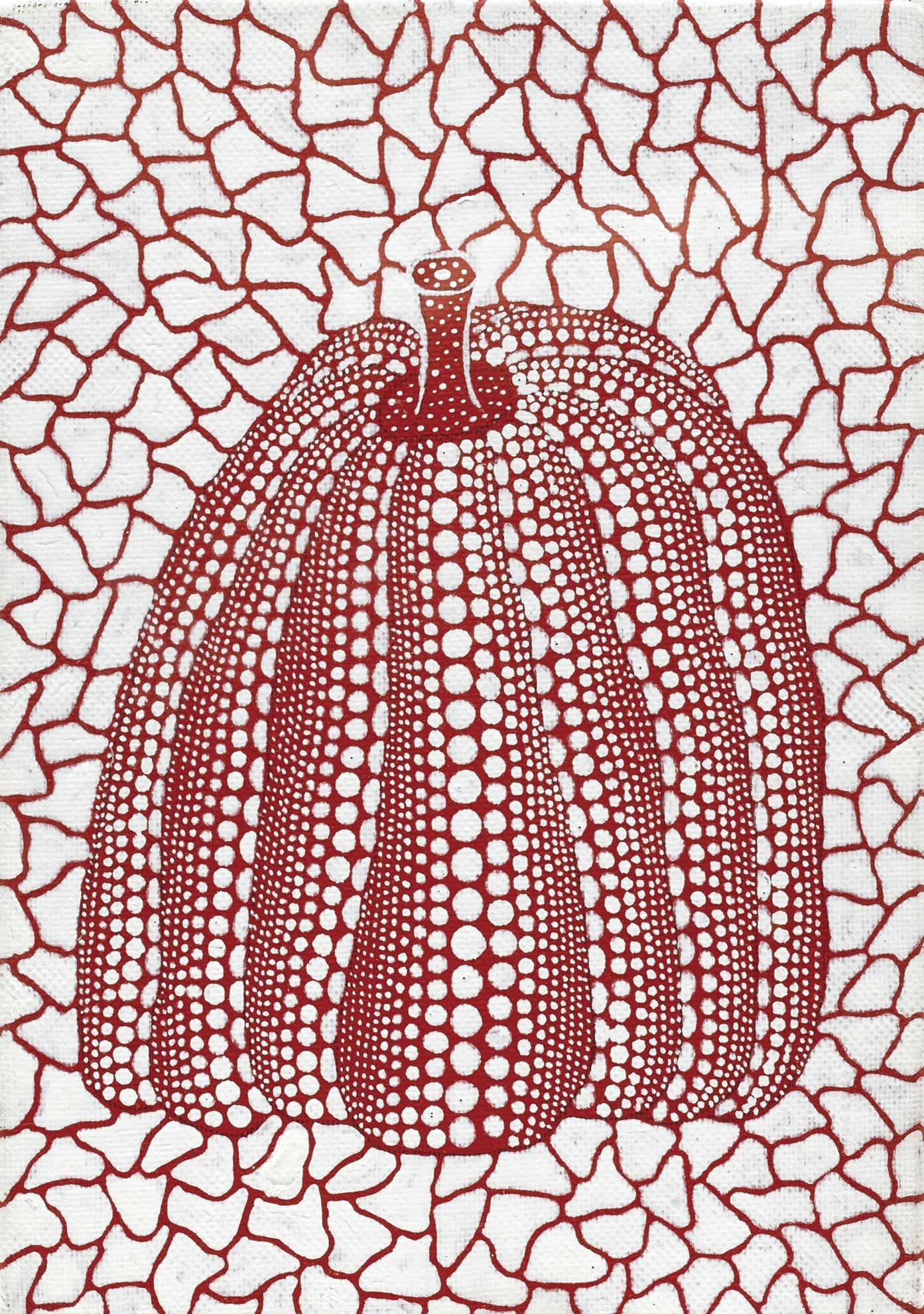 Yayoi Kusama-Pumpkin-1990