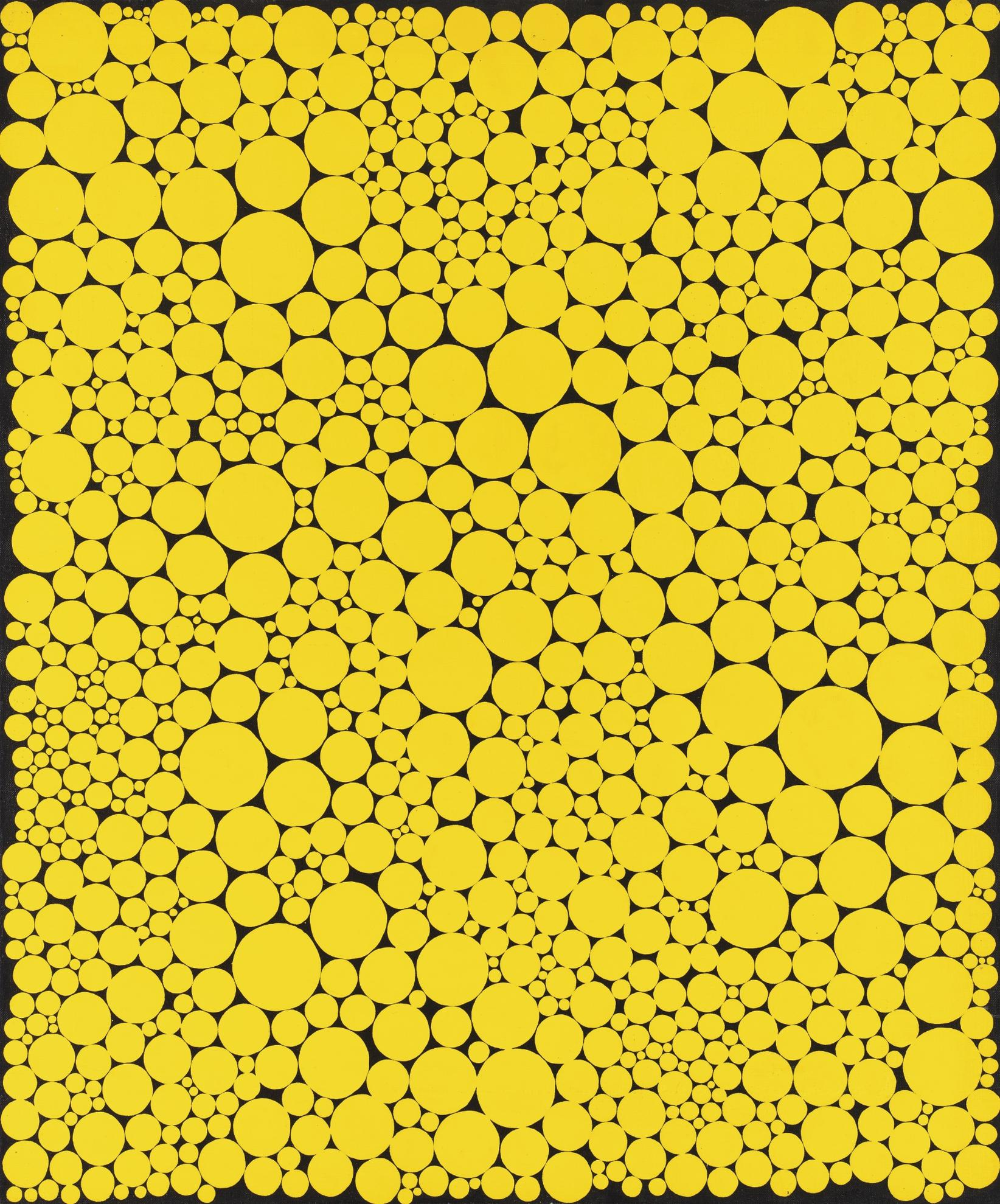 Yayoi Kusama-Dots-1990