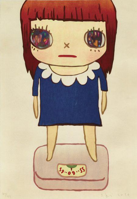 Yoshitomo Nara-Balance Girl-2014