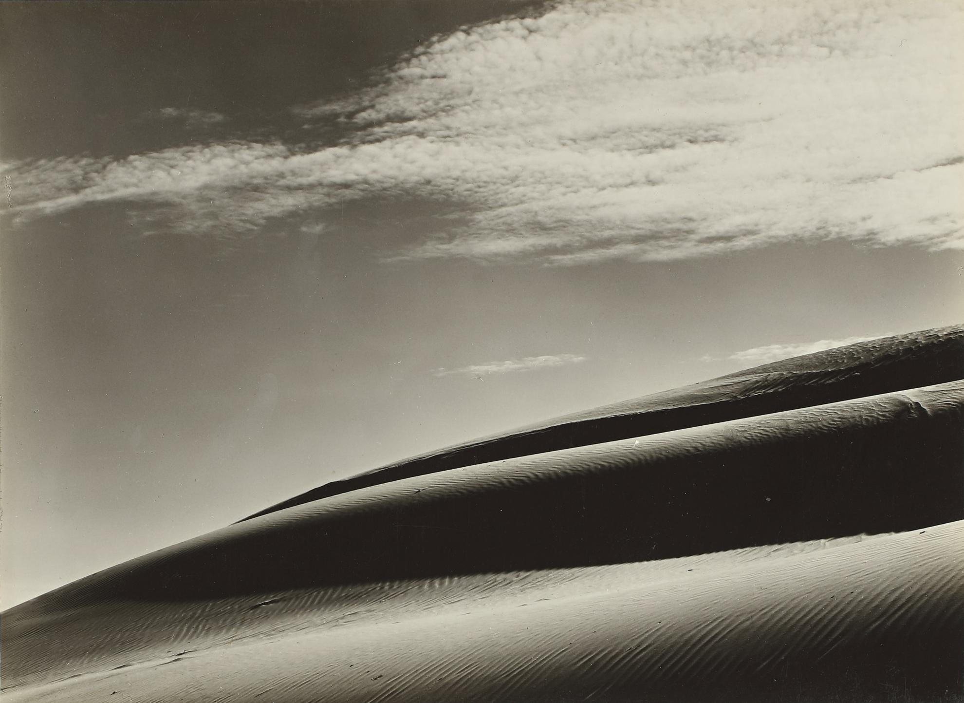 Edward Weston-Dunes, Oceano-1936