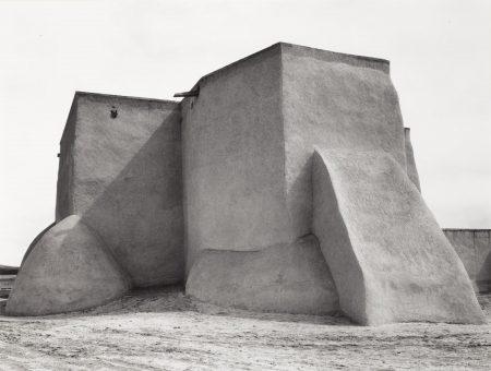 Ansel Adams-St. Francis Church, Rancho De Taos, New Mexico-1929