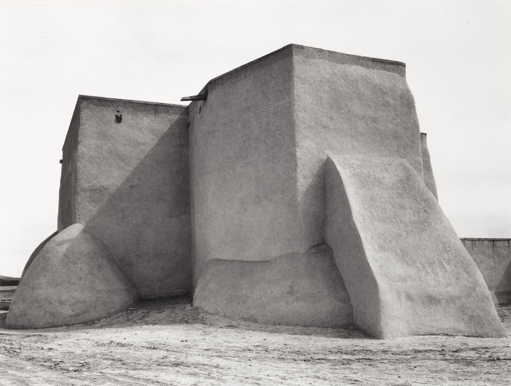 Ansel Adams-St. Francis Church, Rancho De Taos, New Mexico-1929