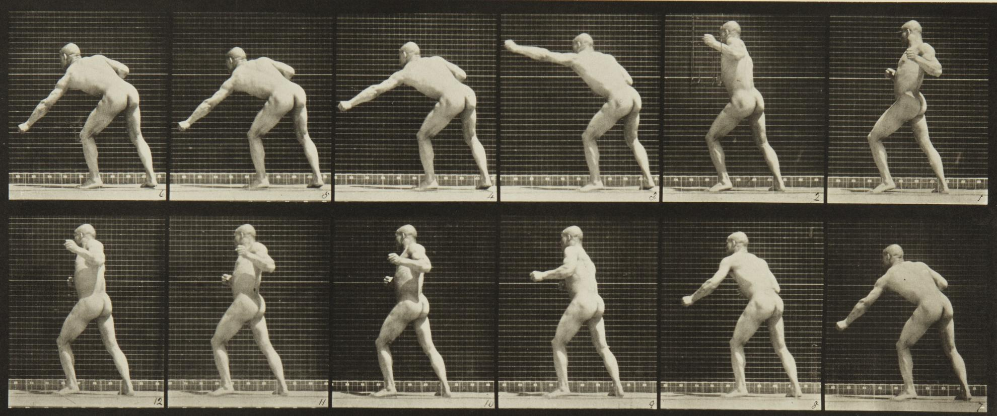 Eadweard Muybridge-Selected Motion Studies-1887