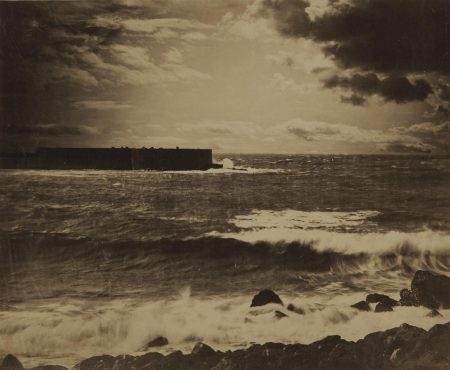 Gustave Le Gray-Grande Vague. Cette (The Great Wave, Sete)-1857