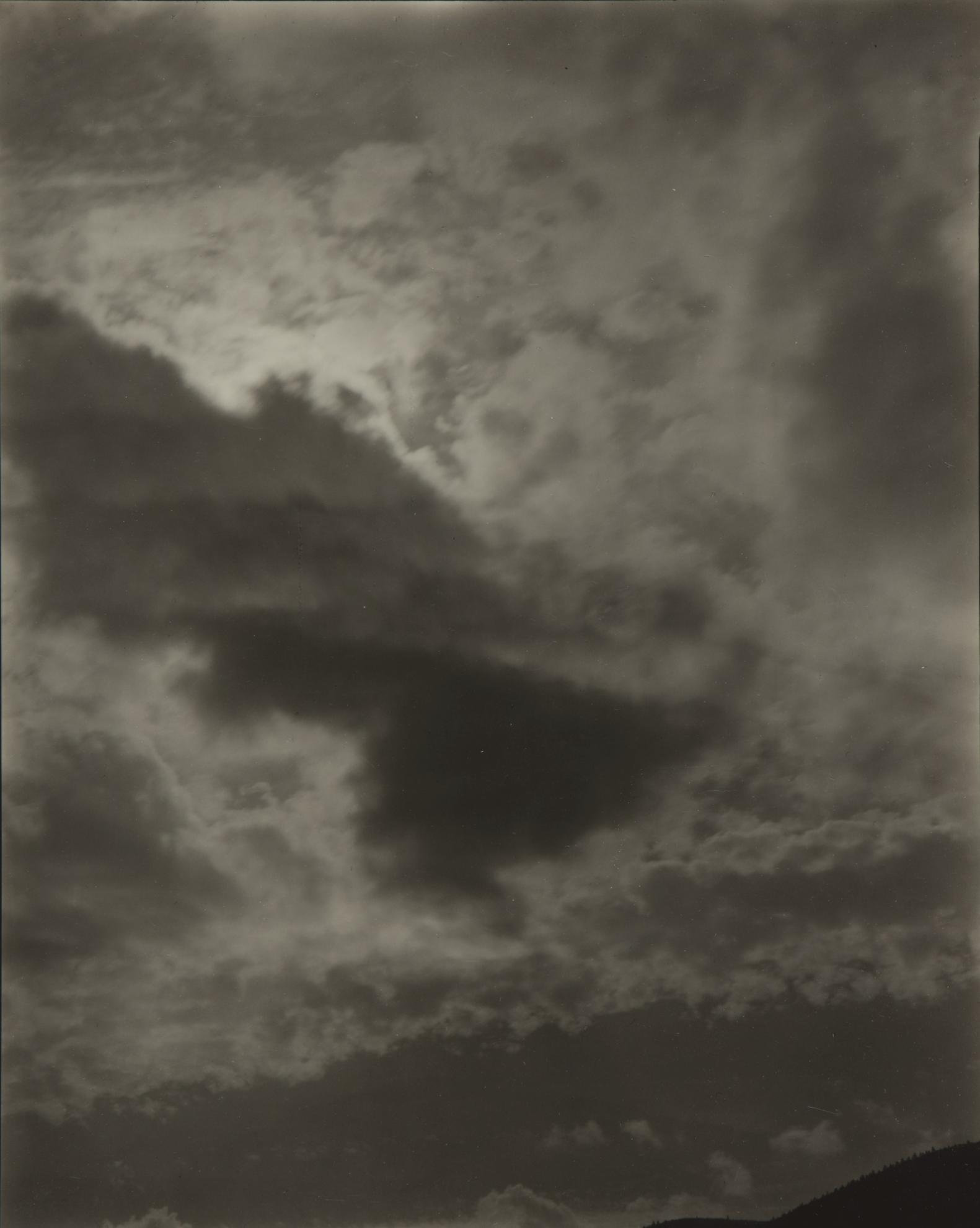 Alfred Stieglitz-Music, A Sequence Of Ten Cloud Photographs, No. VI-1922