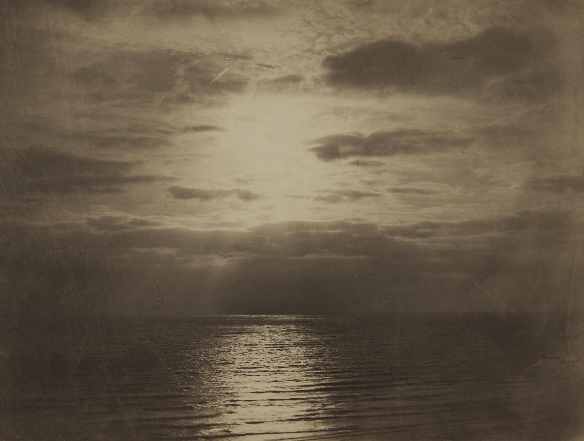 Gustave Le Gray-Effet De Soleil Dans Les Nuages - Ocean (Solar Effect In The Clouds, Ocean)-1857