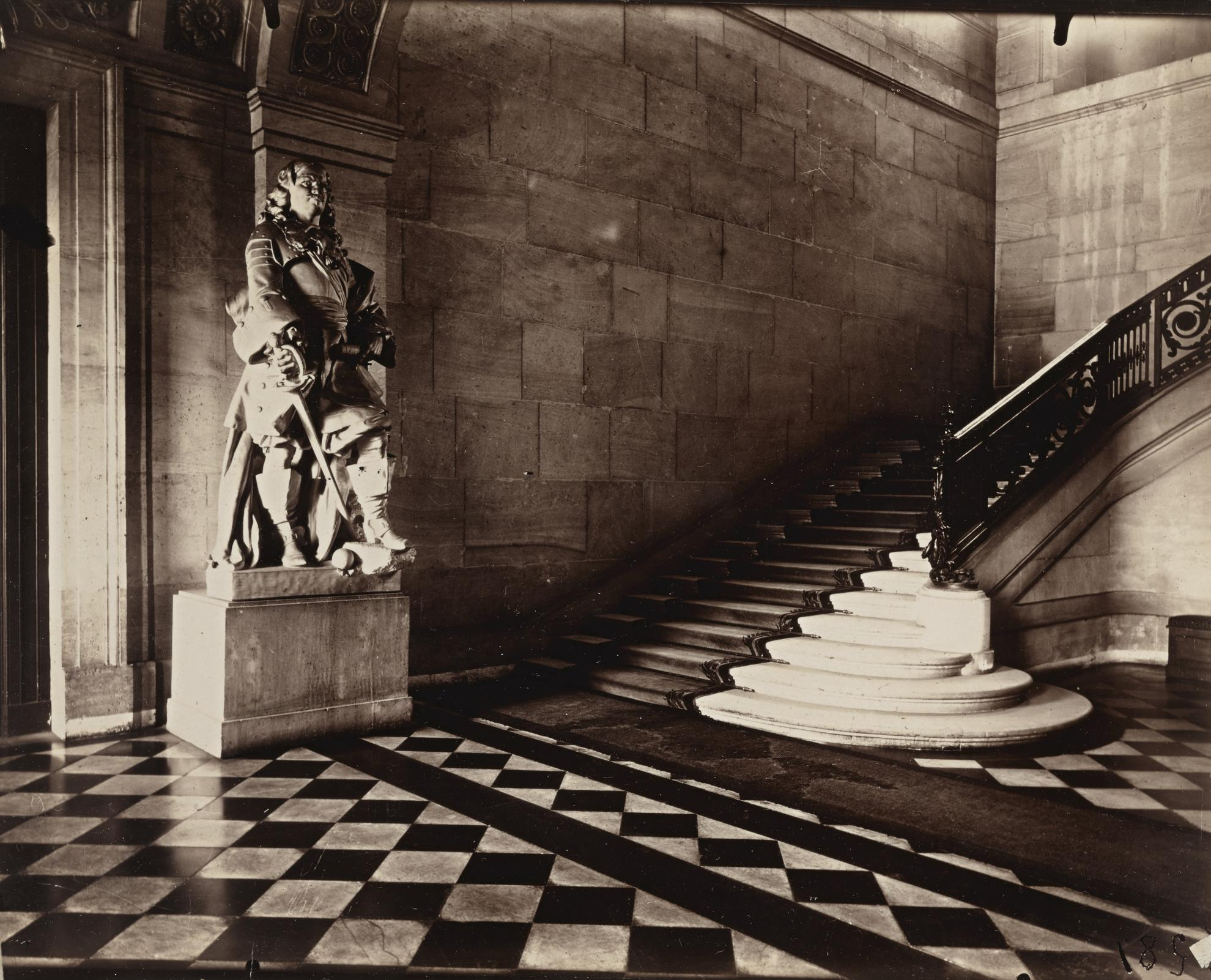 Eugene Atget-Ecole Militaire-1921