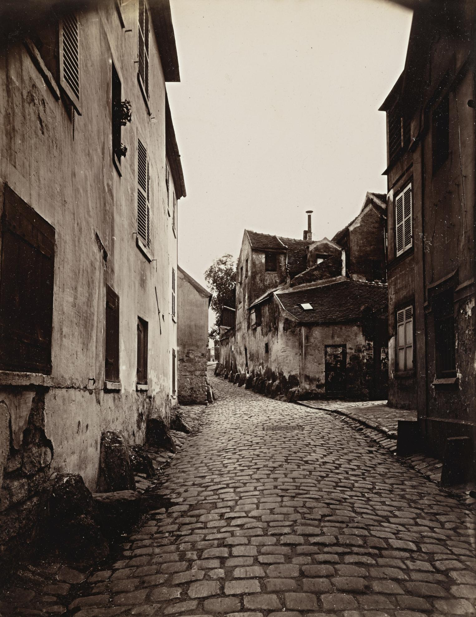Eugene Atget-Vanves (Vieille Rue)-1901