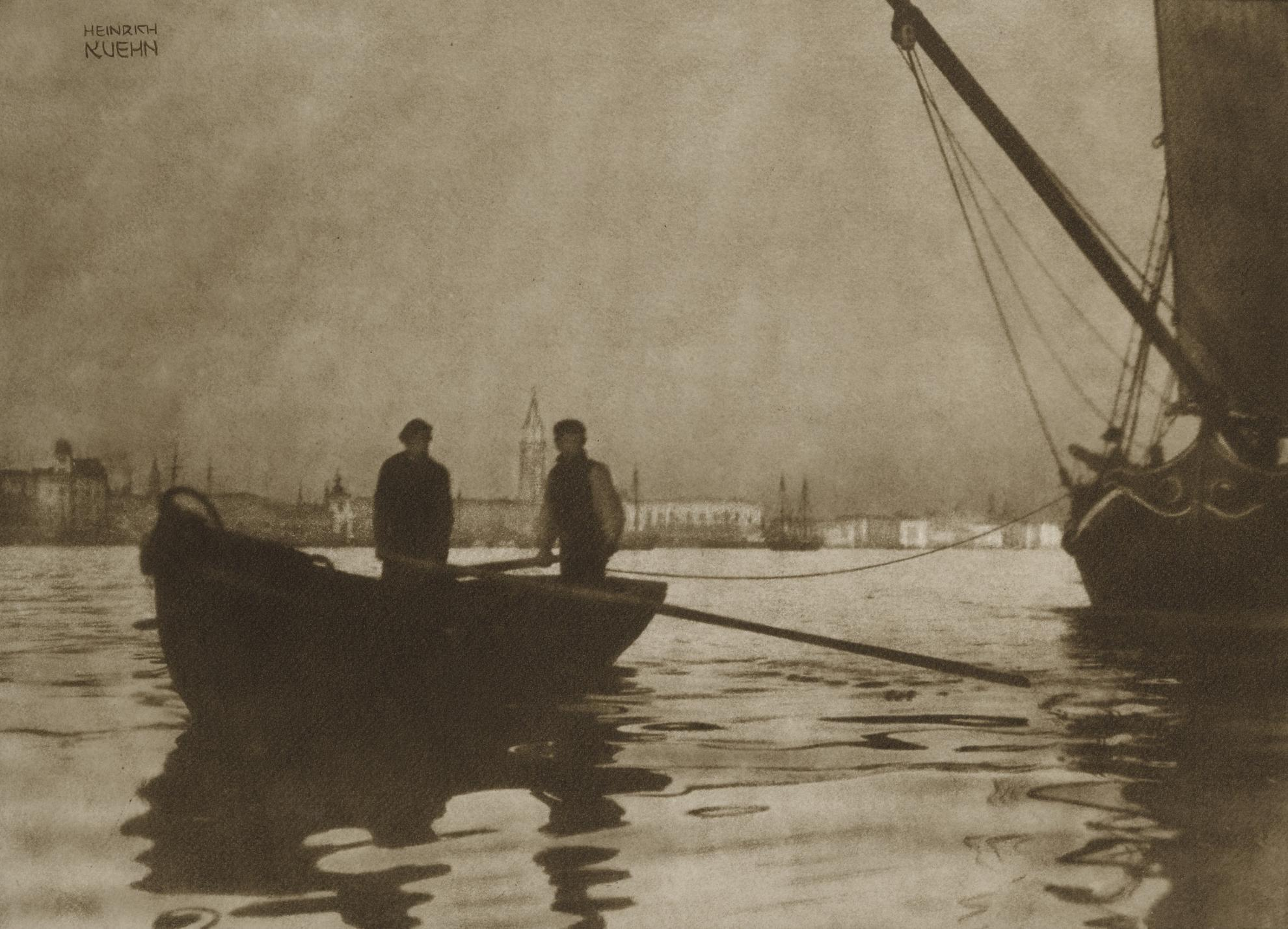 Heinrich Kuhn-In Bacino Di San Marco, Venezia-1898