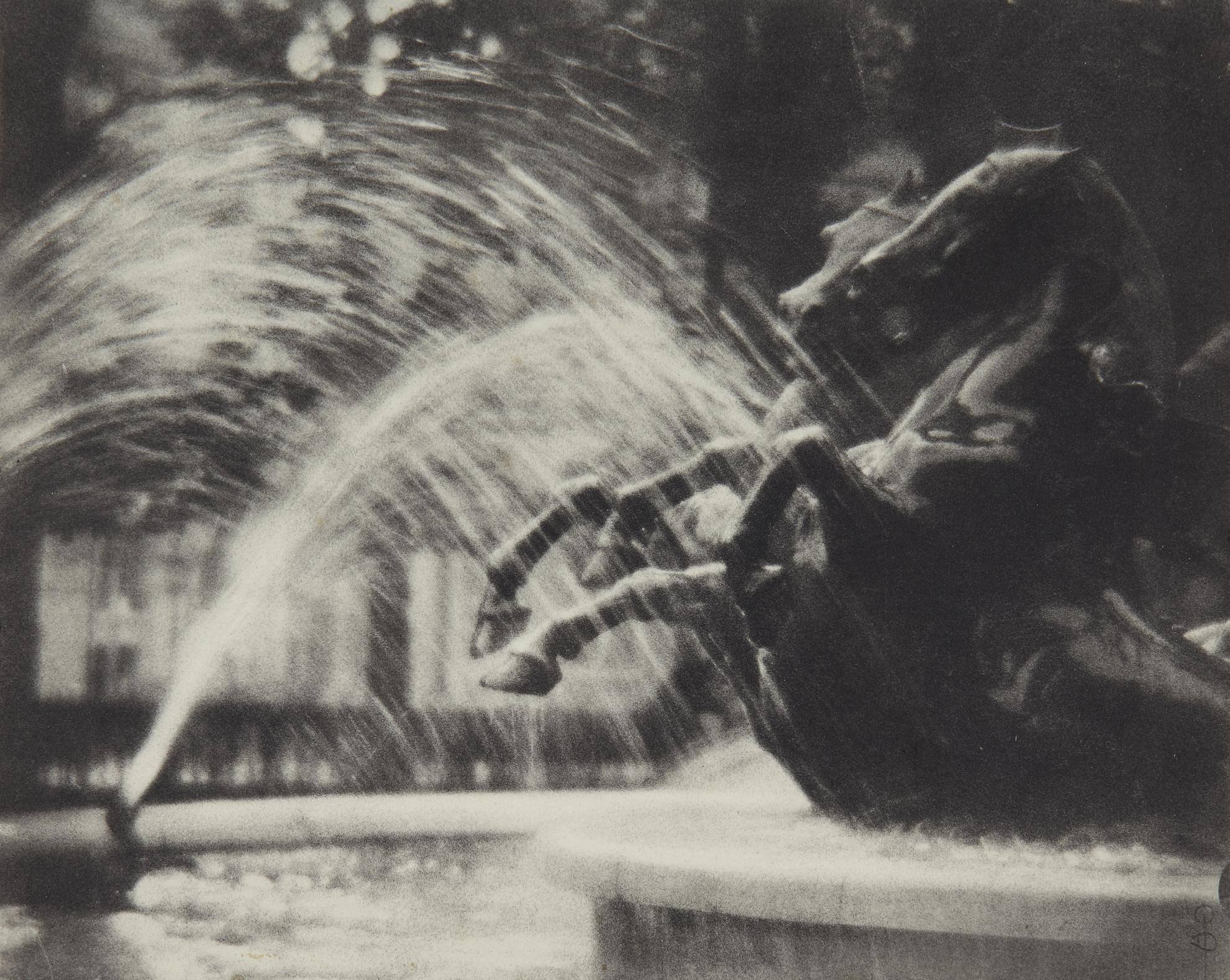 Pierre Dubreuil-Au Luxembourg (La Fontaine De Carpeaux Au Luxembourg)-1912