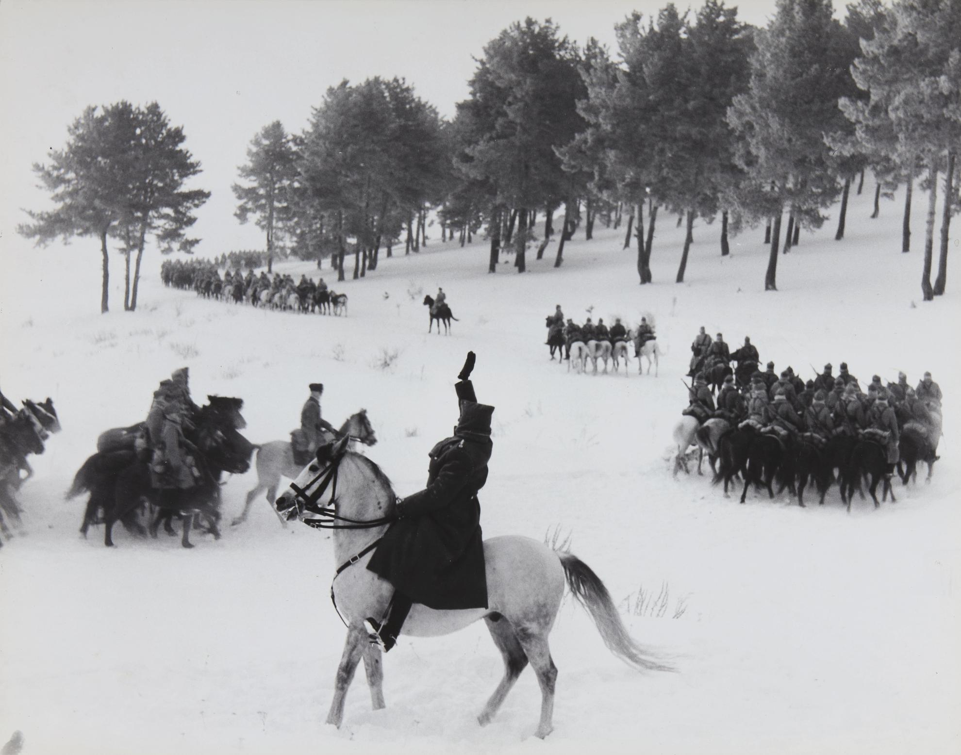 David Douglas Duncan-Turkish Cavalry Maneuvers-1948