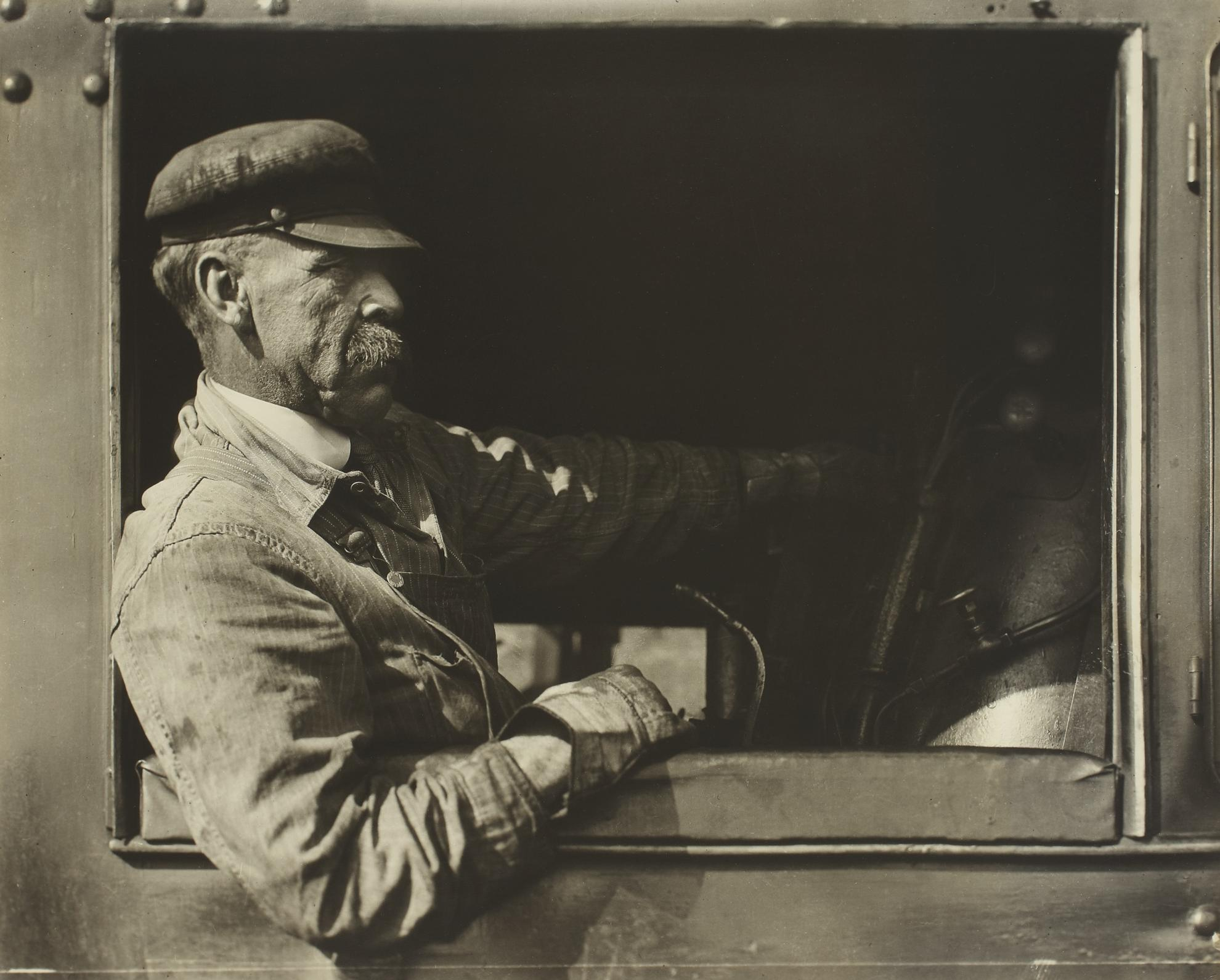 Lewis Wickes Hine-Engineman, Pennsylvania-1924