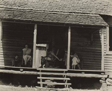 Walker Evans-Family And Home Of Floyd Burroughs, Hale County, Alabama, Summer 1936 (F. S. A., 247)-1936