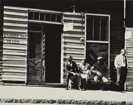 Walker Evans-Street Scene, Vicksburg, Mississippi, March 1936 (F. S. A., 134; MoMA, p. 124; Walker Evans at Work, p. 141)-1936