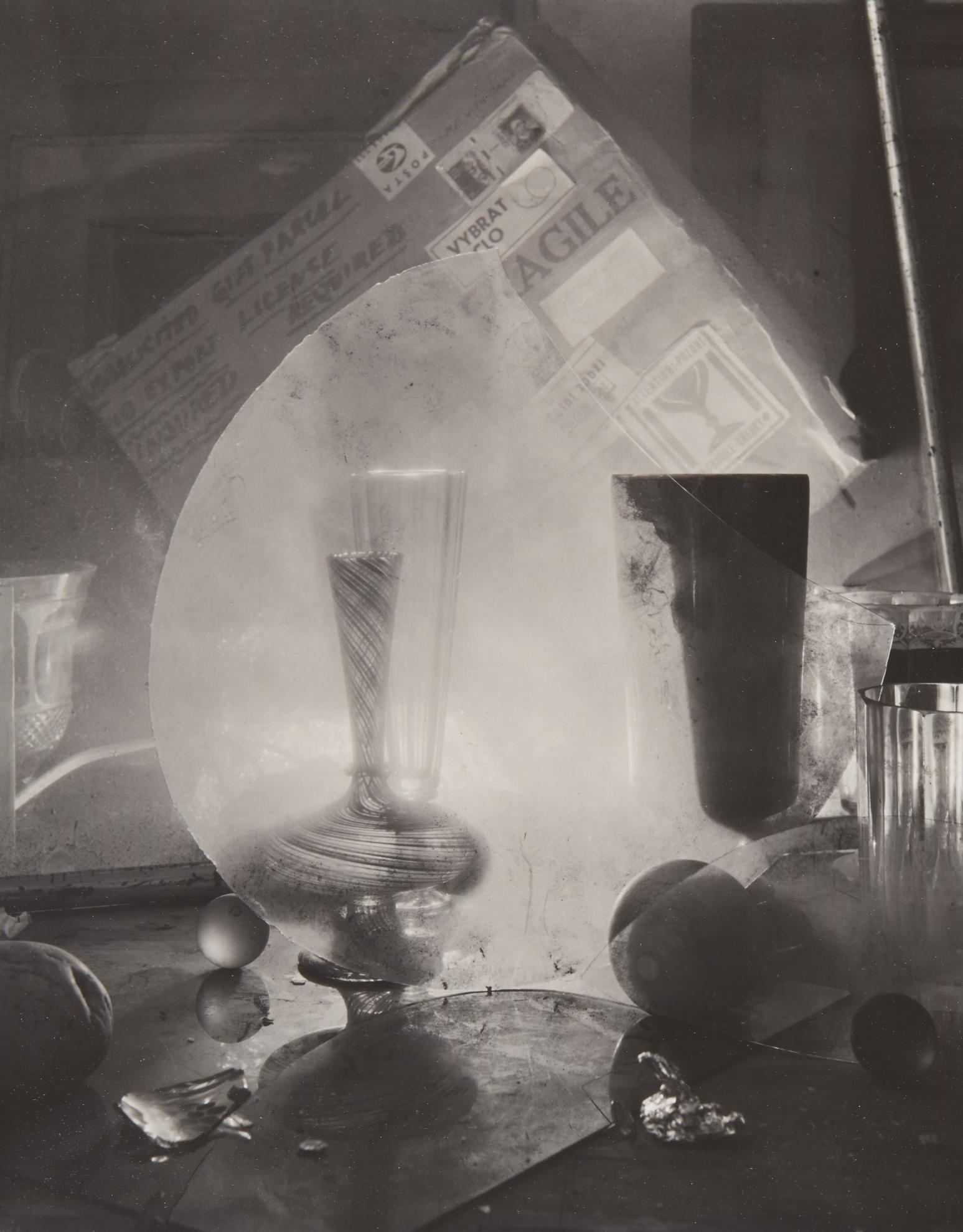 Josef Sudek-Untitled (From Glass Labyrinths)-1968