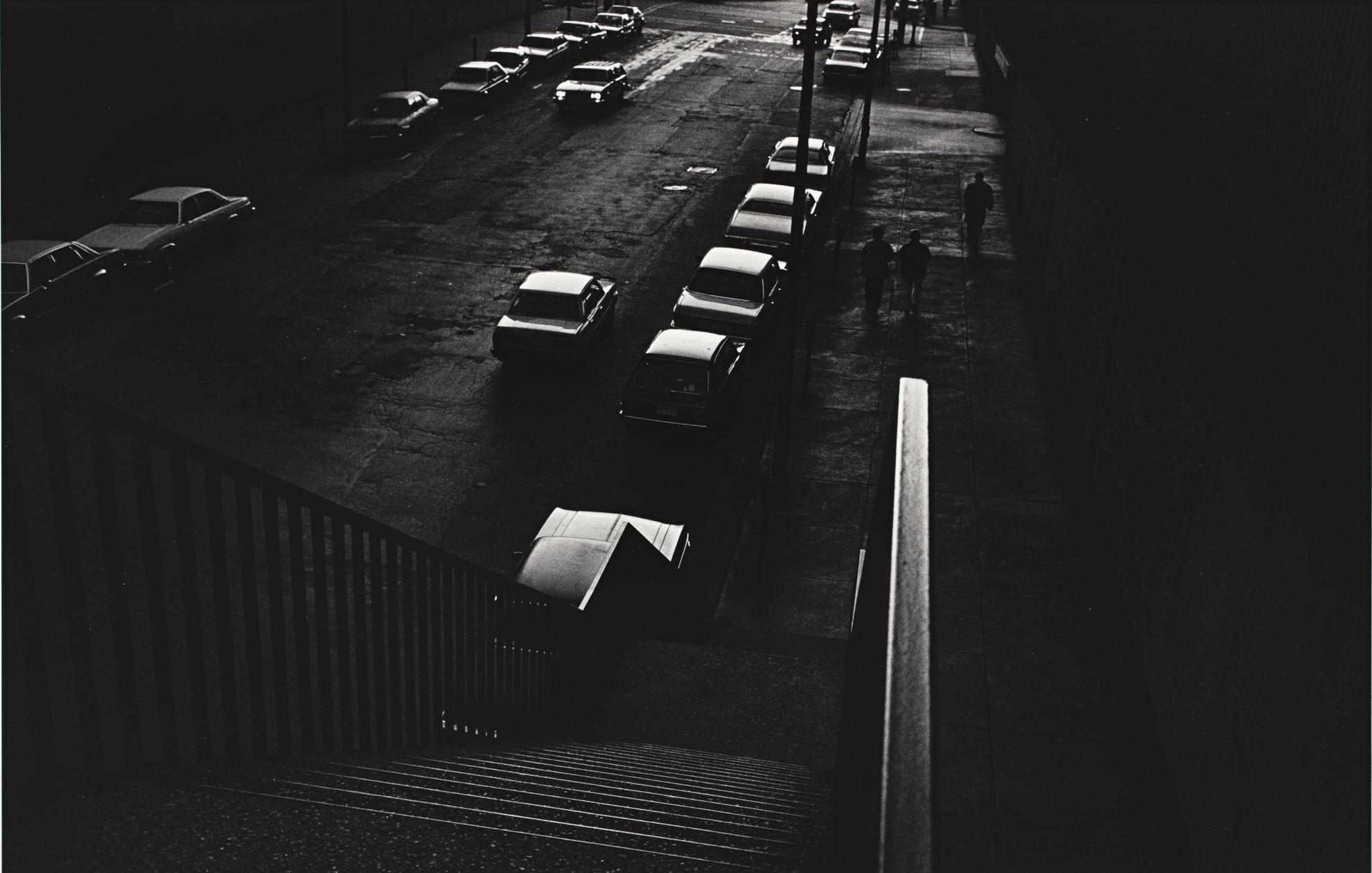 Ray Metzker-Untitled (Chicago From City Whispers)-1982