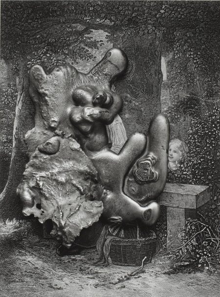 Frederick Sommer-Virgin And Child With St. Anne And The Infant St. John-1966