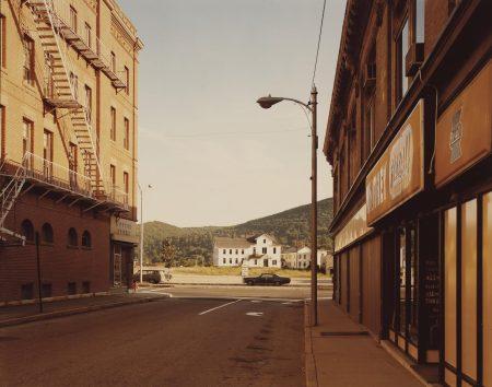Stephen Shore-Holden Street, No. Adams, Mass. 7/13/74-1974