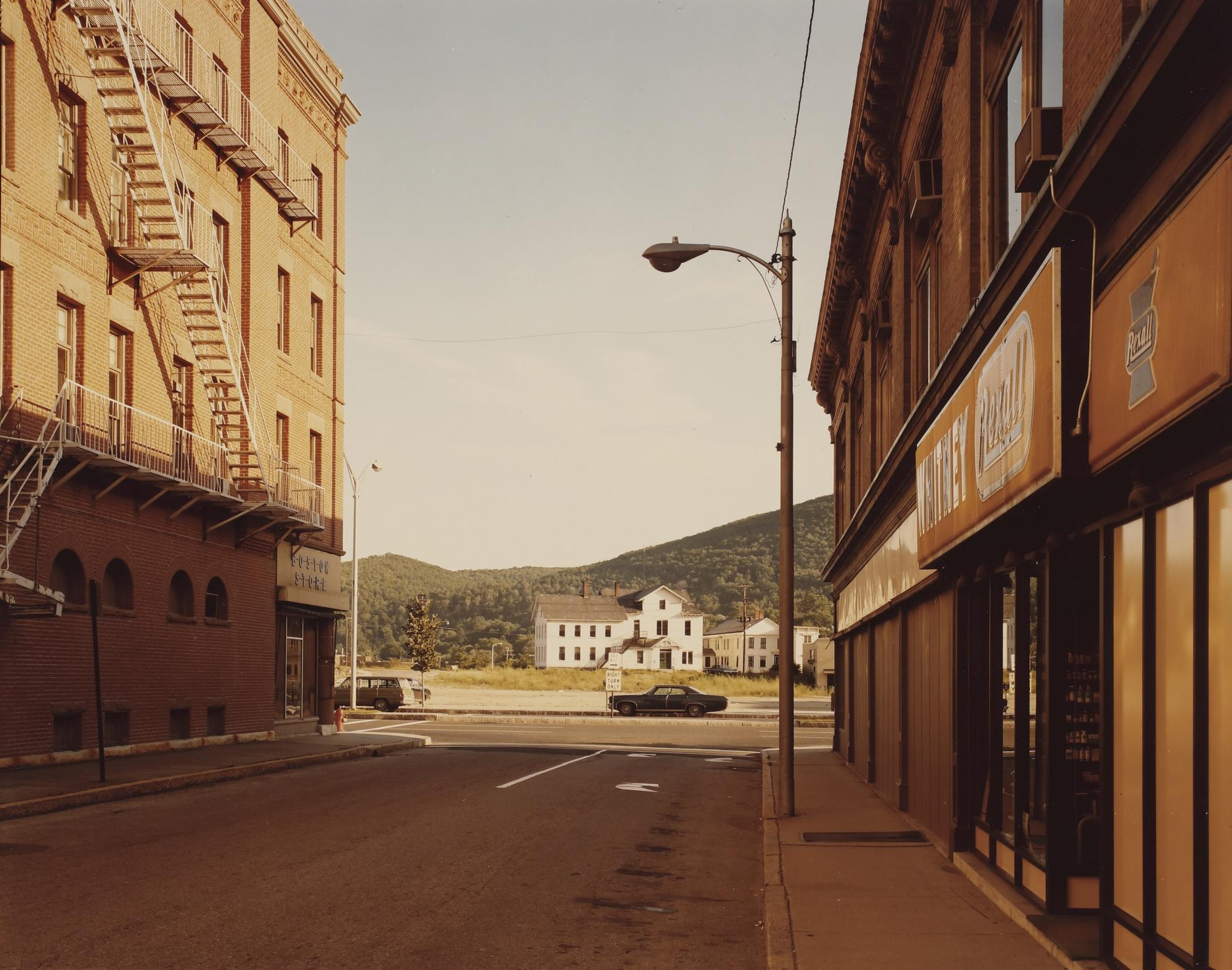 Stephen Shore-Holden Street, No. Adams, Mass. 7/13/74-1974