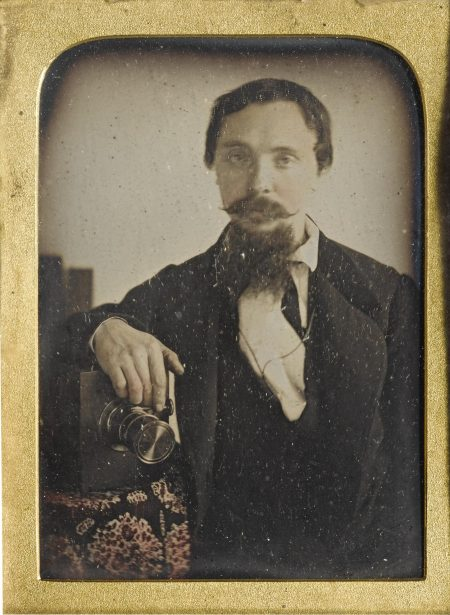 Anonymous English Photographer - The English Daguerreotypist With A French Quarter-Plate Camera-1850