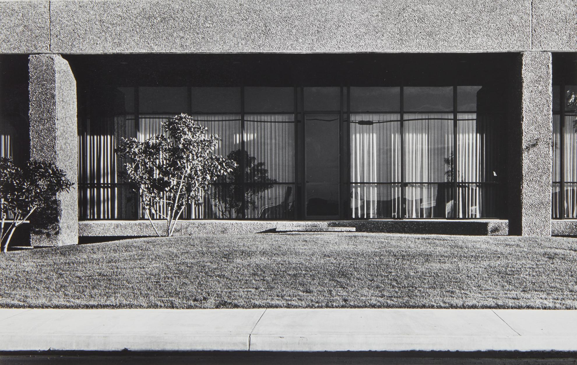 Lewis Baltz-New Industrial Parks #41: North Wall, General Offices, Rb Furniture, 2323 Southeast Main Street, Santa Ana-1974
