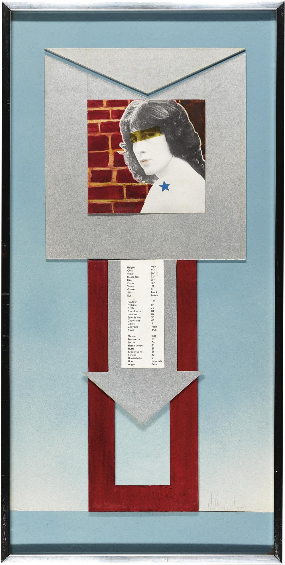Robert Mapplethorpe-Untitled (David Against Brick Wall)-1970