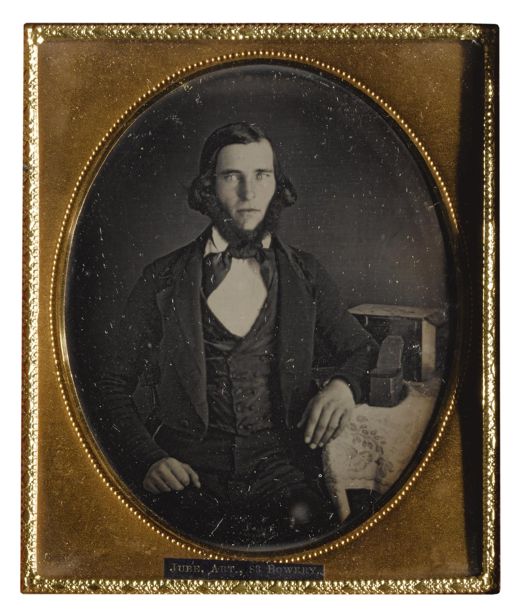 Anonymous American Photographer Possibly Mary Ann Jube - Thomas S. Jube, Daguerreian Artist-1853