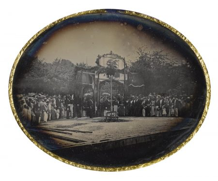 Anonymous French Photographer - Ceremony Commemorating The Abolition Of Slavery In The French Empire, Martinique-1848
