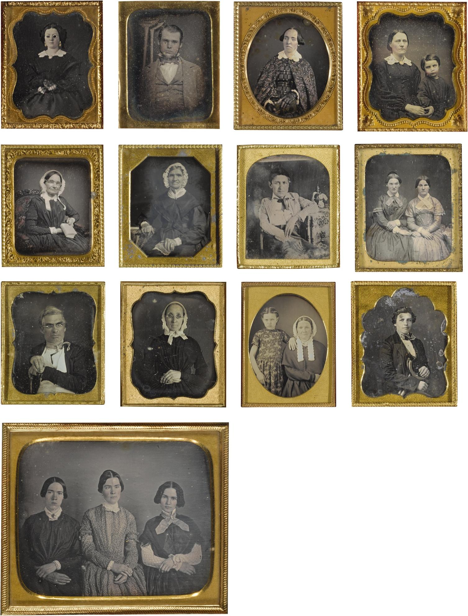 Anonymous American Photographers - Selected Portraits Of Patients And Persons With Physical Abnormalities-1850