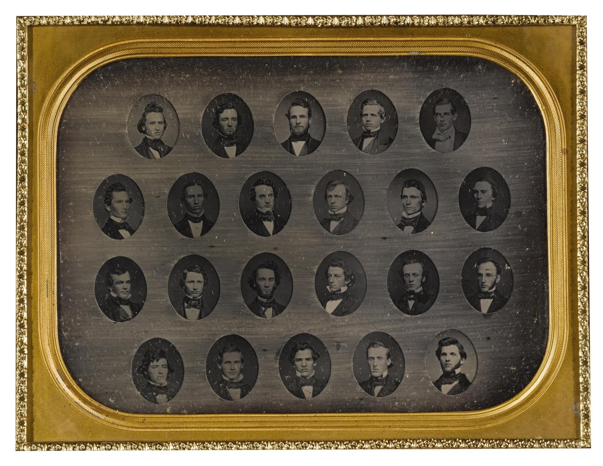 Anonymous American Photographer - Selected Composite Class Photographs-1854