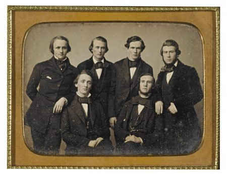 Anonymous American Photographers - Students Of The Medical College Of Virginia-1850