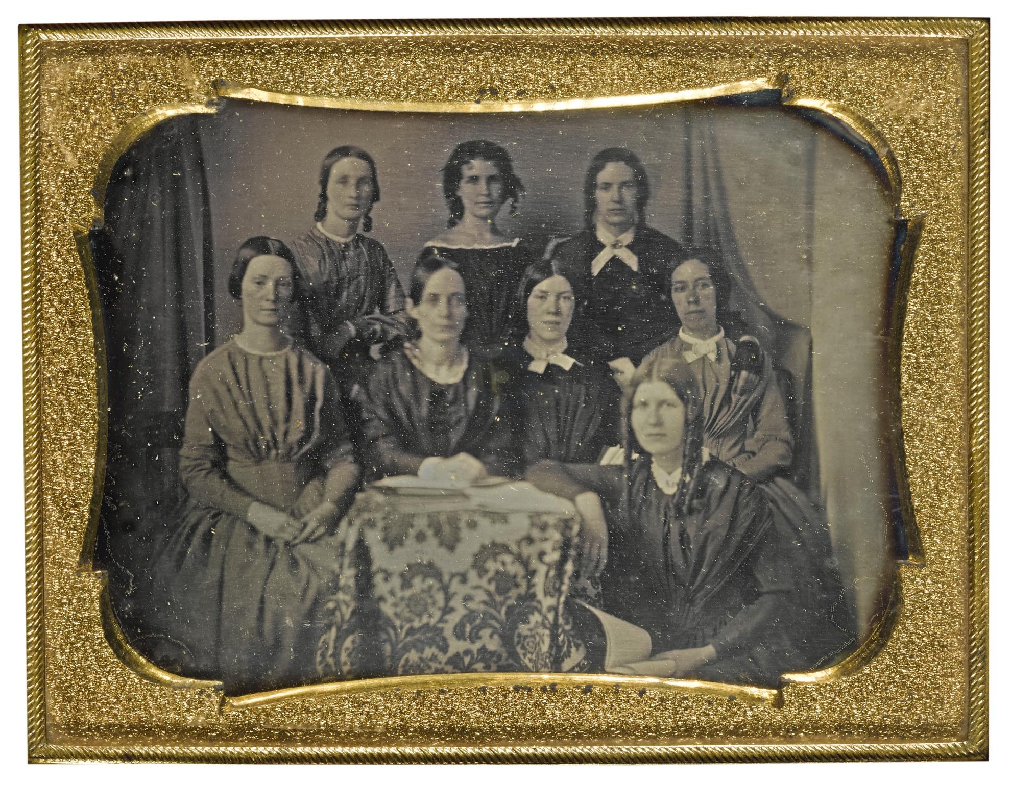 Anonymous American Photographer - Literary Club Of Groveland, Massachusetts-1844