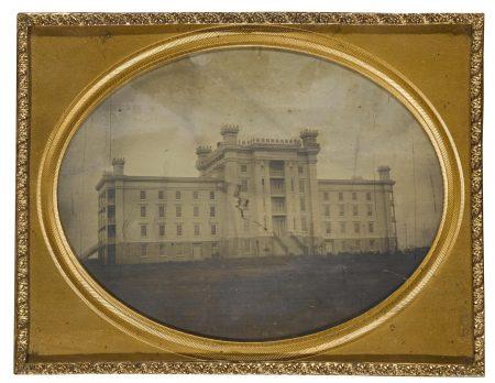 Anonymous American Photographer - Gothic Revival Building (Carmel Collegiate Institute)-1849
