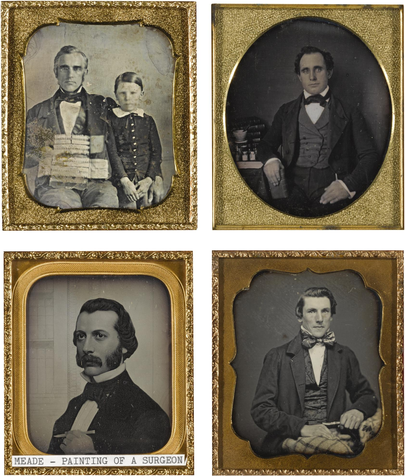Anonymous American Photographers - Selected Medical Professional Portraits-1845