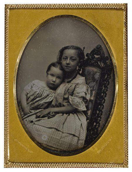 Charles Deforest Fredricks - Affectionate Sisters-1850